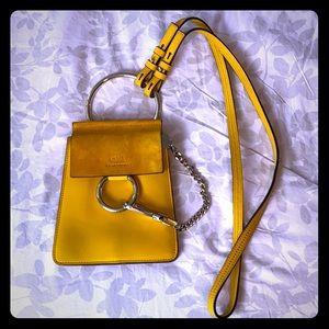 Chloe Faye Minibag Yellow